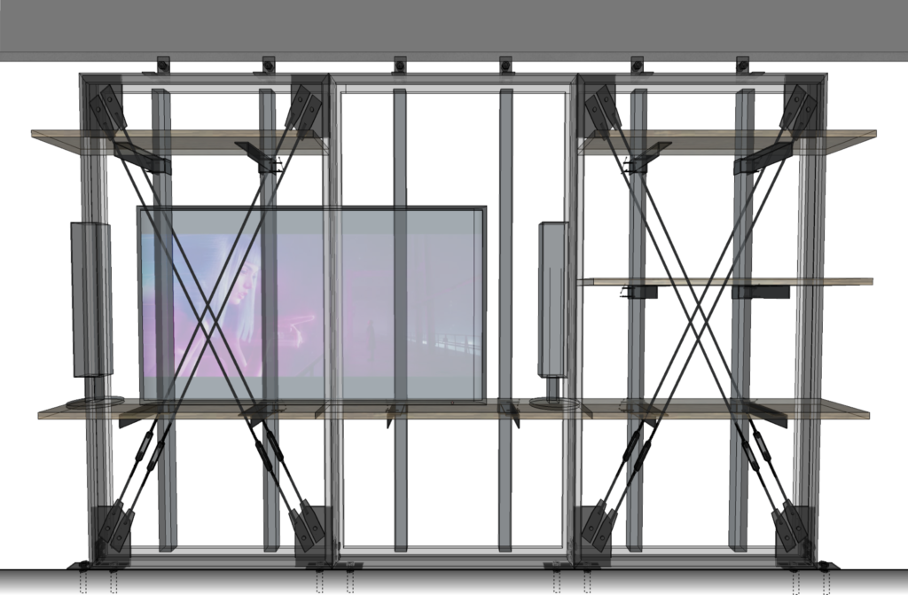 鋼鉄製リノベーションパネル『X-FRAME』