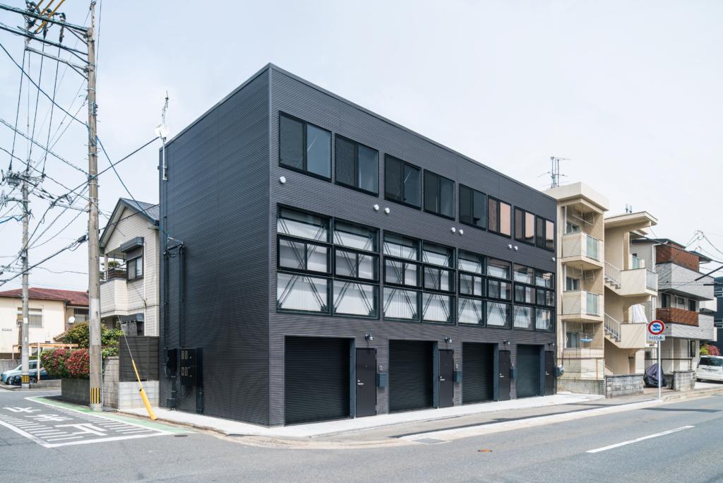 """【満室御礼】<br class=""""sp"""">BLACK BASE FUJISAKI<br>オープンハウス"""